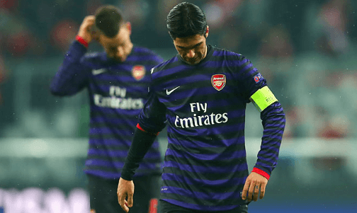 Arsenal exit despite near-perfect away performance