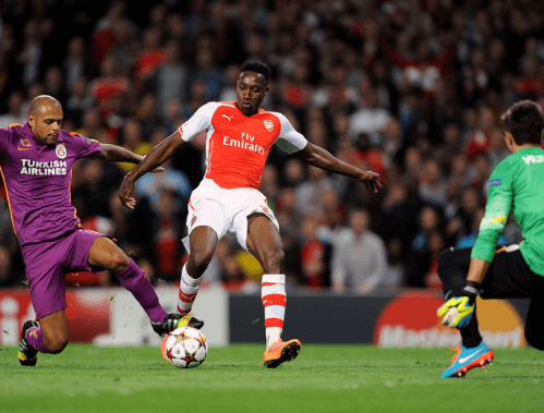 Danny Welbeck shows finishing touch